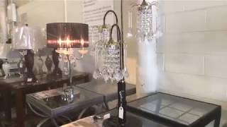 FB Live - Crystal Chandelier Table Lamps