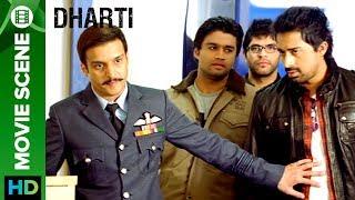 Jimmy Shergill teaches discipline to Rannvijay Singh   Dharti Punjabi Movie
