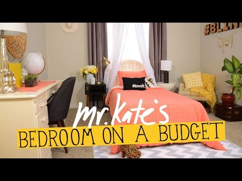 Bedroom On A Budget!  Diy Home Decor  Mr Kate