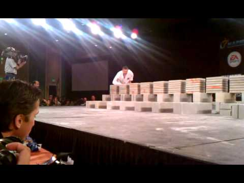 John Zurisk – Speed Breaking – ISKA – 64 blocks – US Open 2012