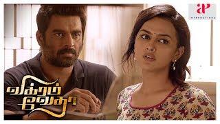 Vikram Vedha Movie | Madhavan And Shraddha argue | Madhavan Realizes his Mistake | Prem passes away