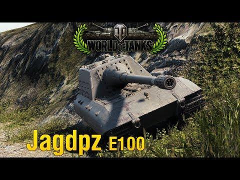 World of Tanks Replay - Jagdpanzer E100 - 1vs5 - 11k Damage - 10 Kills [HD]