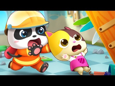 A Big Earthquake - Play Safe Song | Playground Song +More Nursery Rhymes | Kids Songs | BabyBus