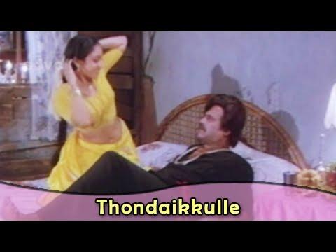 Thondaikkulle | Rajnikanth | Amala | Bharathiraja | Kodi Parakathu | Tamil Romantic Song