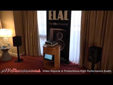 ELAC B5 loudspeaker, $20,000 sound for $229, by Andrew Jones, THE Show 2015