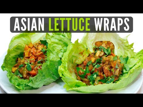 Asian Lettuce Wraps Veganized! | Healthy on a Budget