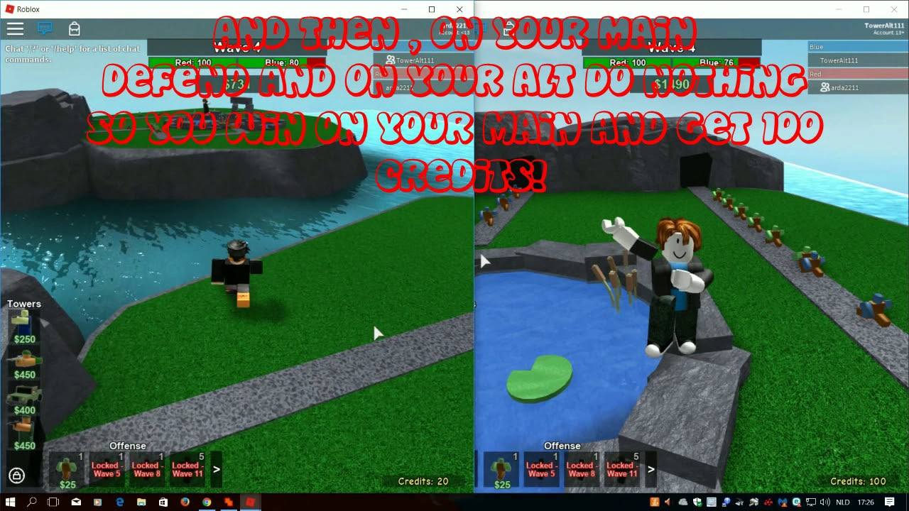 how to hack tower battles roblox