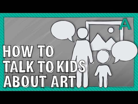 5 Tips on How to Talk to Kids About Art | ARTiculations