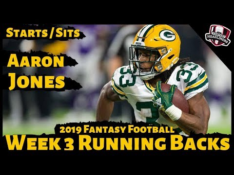 2019 Fantasy Football Advice - Week 3 Running Backs - Start or Sit? Every Match Up