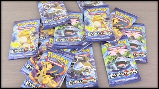 Unboxing A Pokemon Evolutions Booster Box! Part 1/2 - The BEST Booster Box