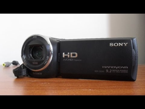 Sony CX240 - Unbiased camcorder reviews, prices, and advice