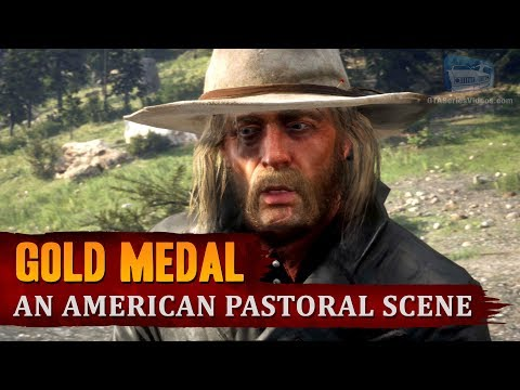 Red Dead Redemption 2 - Mission #22 - An American Pastoral Scene [Gold Medal]