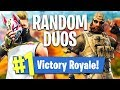 RANDOM DUOS SEASON 5 1 183 WINS 23 150 FRAGS Fortnite Battle Royale mp3