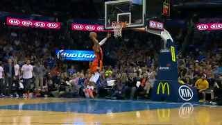 Russell Westbrook Steal and Slam