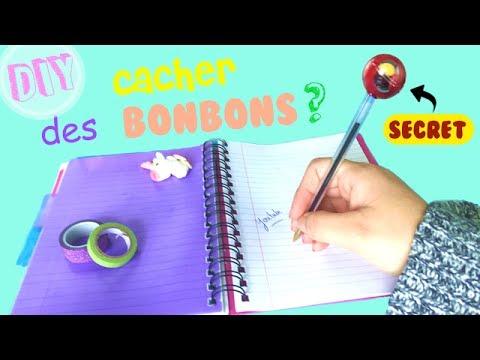 diy comment cacher des bonbons en classe stylo cachette. Black Bedroom Furniture Sets. Home Design Ideas