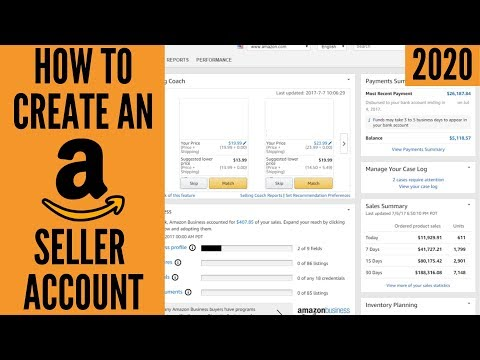 How To Setup Your Amazon Seller Central Account 2020 (Step-By-Step Tutorial) | Seller Registration