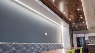 How to Install Recessed LED Channel and LED Strip Lights in Drywall for Recessed Linear Lighting
