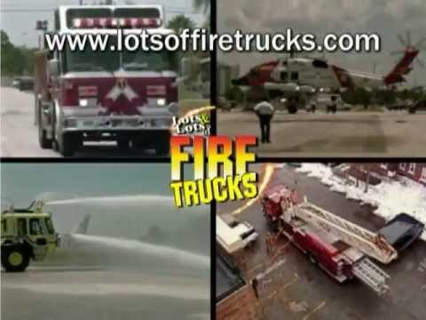 Cool Fire Trucks Racing to the Rescue  Call 911 Song  Lots & Lots of Fire Trucks