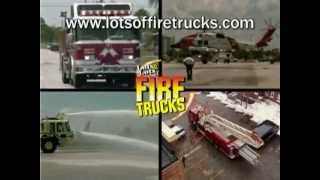 Cool Fire Trucks Racing to the Rescue | Call 911 Song | Lots & Lots of Fire Trucks | James Coffey