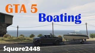 GTA V: Boating