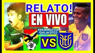 ? EN VIVO?BOLIVIA vs ECUADOR 2020 ELIMINATORIAS QATAR 2022 RELATO Bolivia Ecuador HOY EN DIRECTO