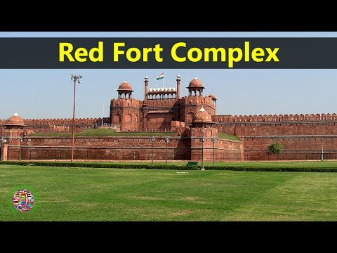 Best Tourist Attractions Places To Travel In India | Red Fort Complex Destination Spot