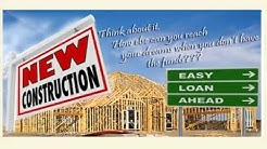 New Home Construction Builder Spec Home Financing