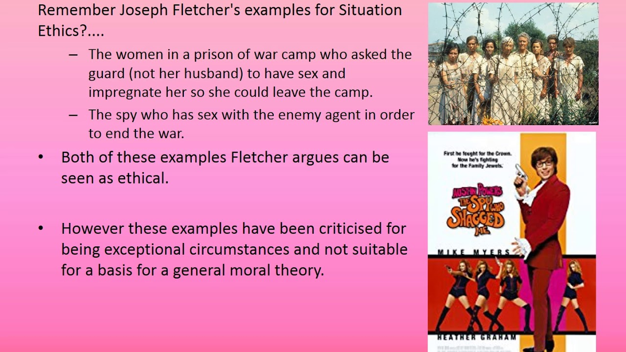 sexual morality examples