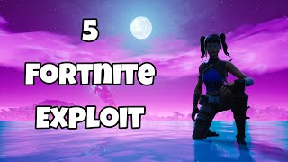 5 Fortnite / Glitchs for Pubs and Creative