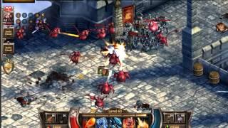 KingsRoad : Gold farm (fortress appraoch) / easy/quick/Wizard