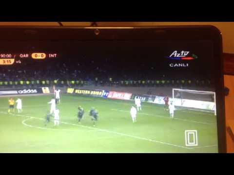 Qarabag FK - Inter 11/12/2014 Not Counted Goal
