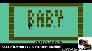 BABY / ATARIVCS / Retron77 ▽こちらもどうぞ ATARI2600互換機に内蔵さ...