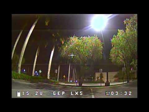 GEPRC LX5 Runcam Owl 2 Plus Test FPV Night Flying