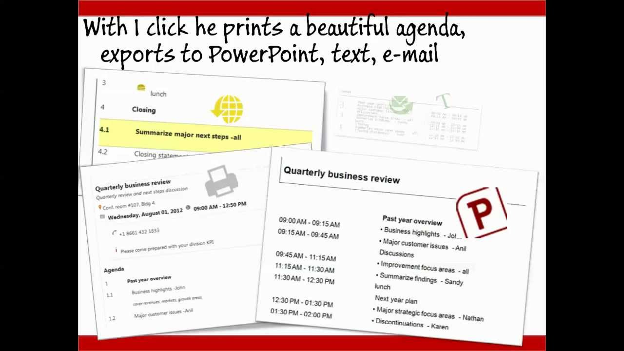 the best online meeting agenda maker from httpeffectiveagendacom