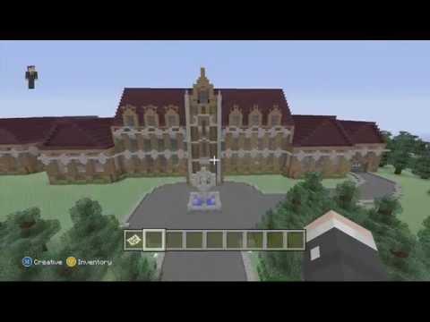 Minecraft Gotham City Wayne Manor & Batcave