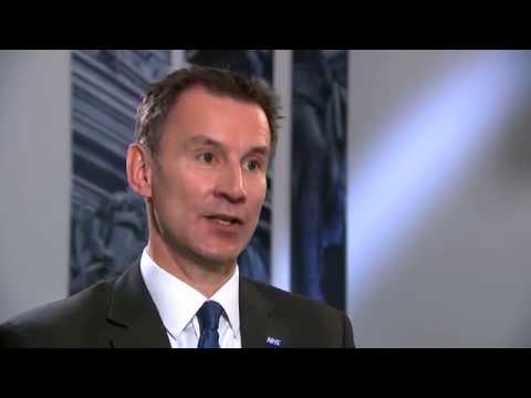 """Jeremy Hunt says he would send family to """"majority"""" of hospitals"""