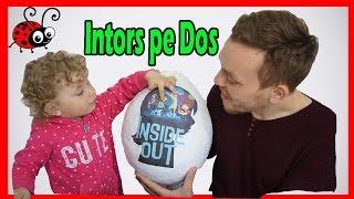 Kinder Surprise Inside Out/Ou Mare cu jucarii Desenul Animat INTORS PE DOS