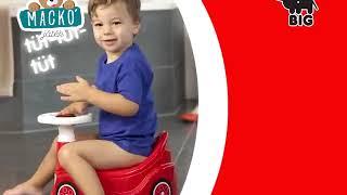 Gyermek autós bili BIG zenélő kormánnyal 18 hó-tól