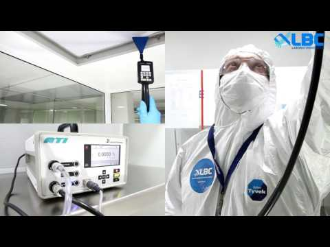 Cleanroom validation - Certificación/Inspección/monitoreo de salas limpias