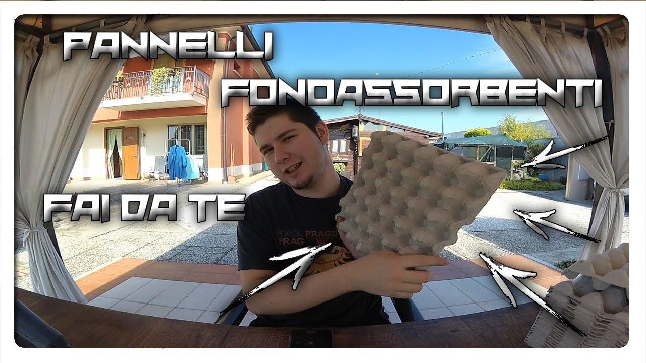 Pannelli Fonoassorbenti Fai Da Te !! - YouTube