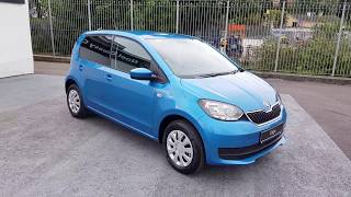 Just arrived ,2018 Škoda Citigo Ambition with factory extras! Gorgeous Crystal Blue