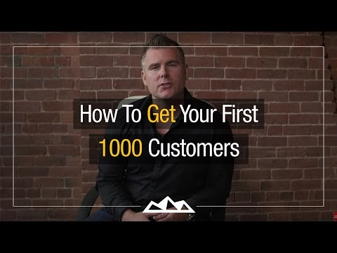 How To Get Your First 1000 Customers | Dan Martell