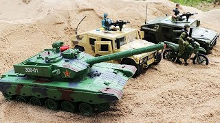 Toys Military Vehicles for Kids    Military Truck and Heavy Tank   Helicopter , Swat Truck