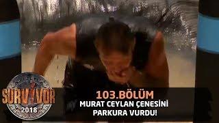 Murat Ceylan çenesini parkura vurdu! | 103. Bölüm | Survivor 2018