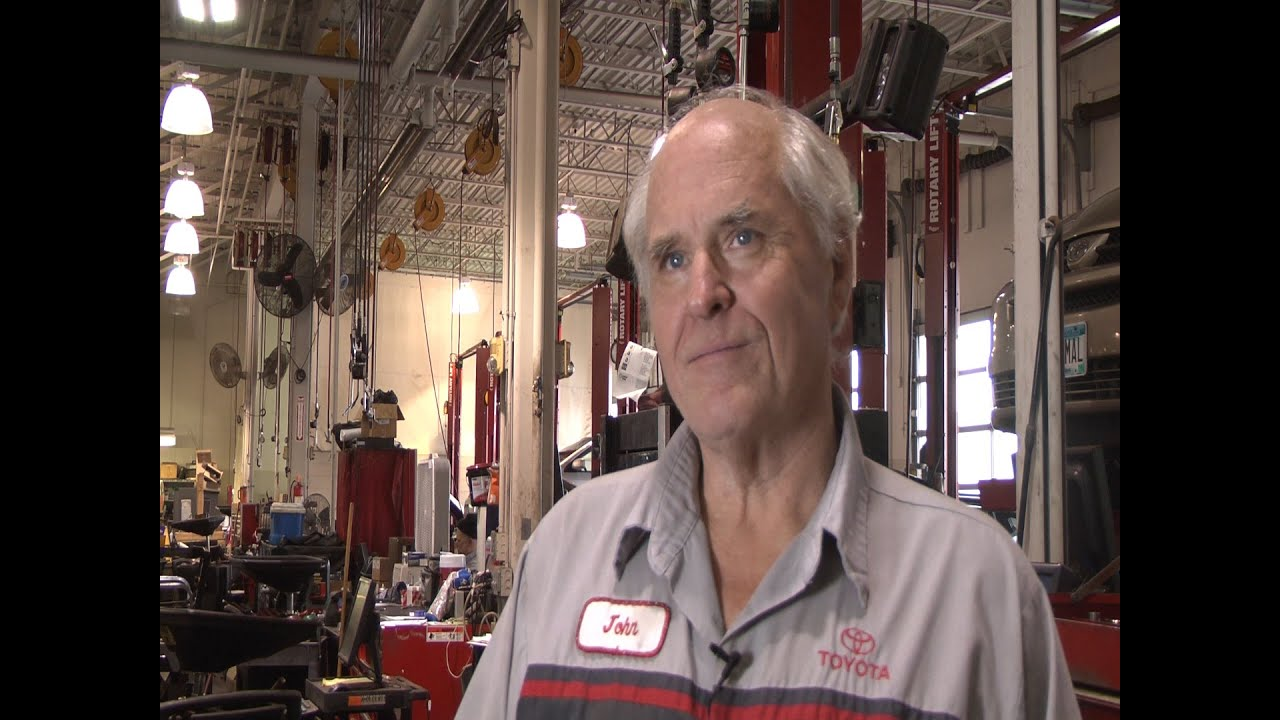 Minnesota   Rudy Luther Toyota Master Technician Is Number One ASE Tech In  U.S.   YouTube