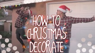 How to Christmas Decorate - The Juan and Jesús Show by David Lopez