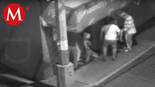 Cae banda dedicada al robo a transeúnte en CdMx