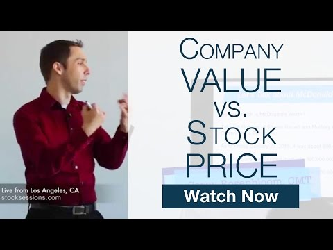 Compare Company Value & Stock Share Price? Market Cap [Stock Market Course 102]