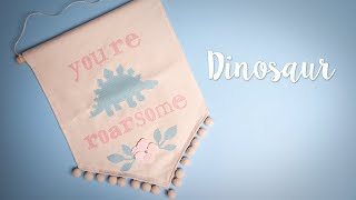 How to Make Wall Hanging Dinosaur - Sizzix Lifestyle