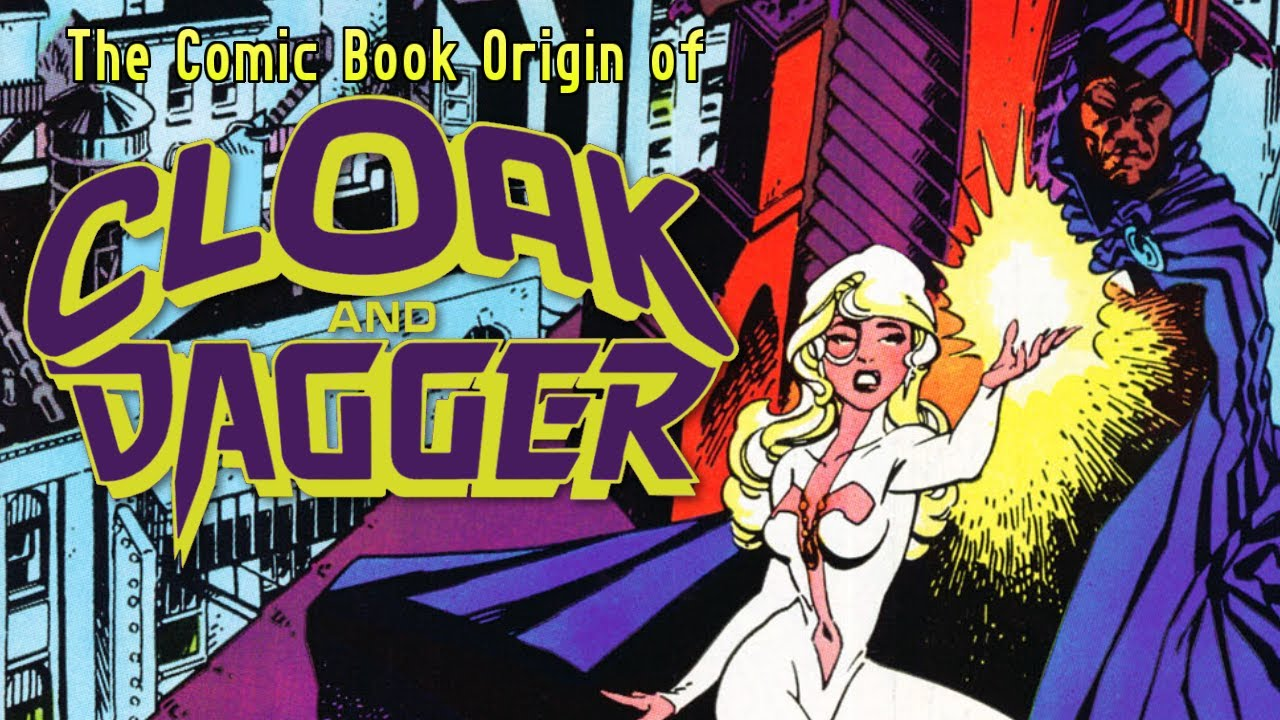 Download The First Appearances and Origin of Cloak and Dagger